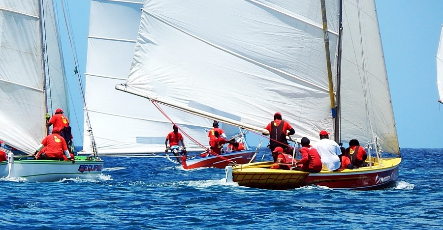 Bequia Regatta la course