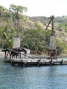 Décors Pirates en catamaran