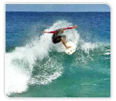 Surf aux Antilles