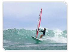 Windsurf et kitesurf en catamaran