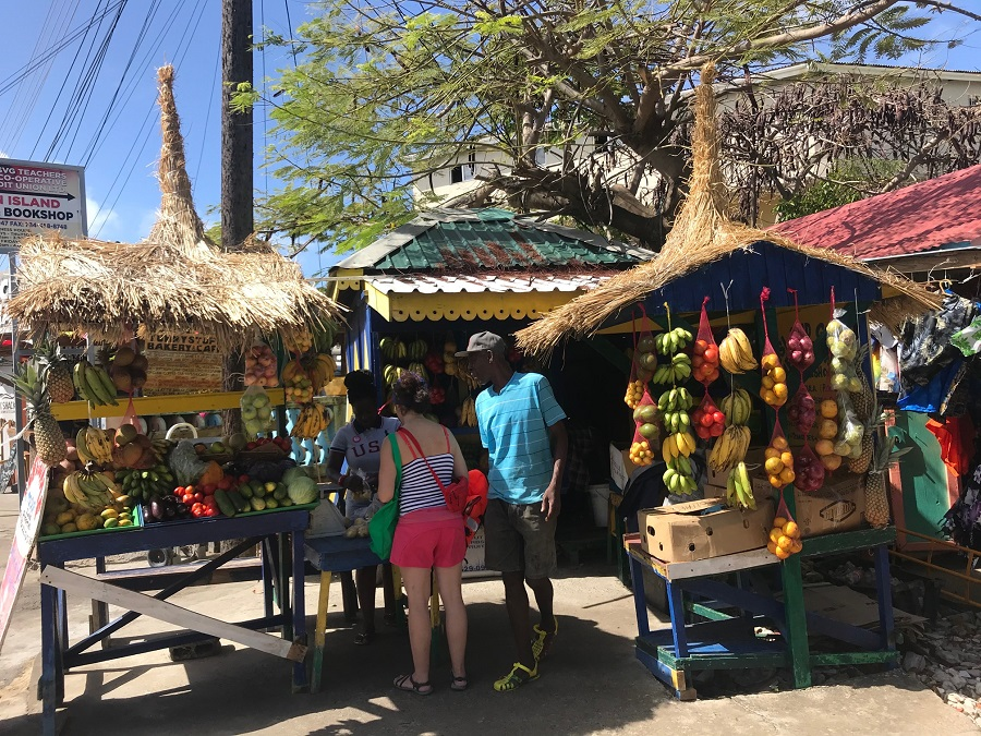 Grenadines - marché