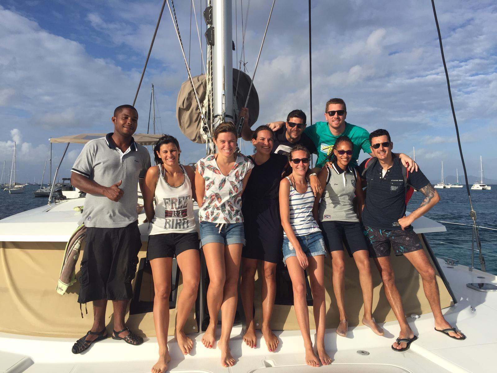 Les Grenadines entre amis
