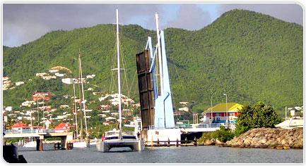 Convoyage catamaran