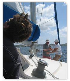 Ecole de croisière en catamaran