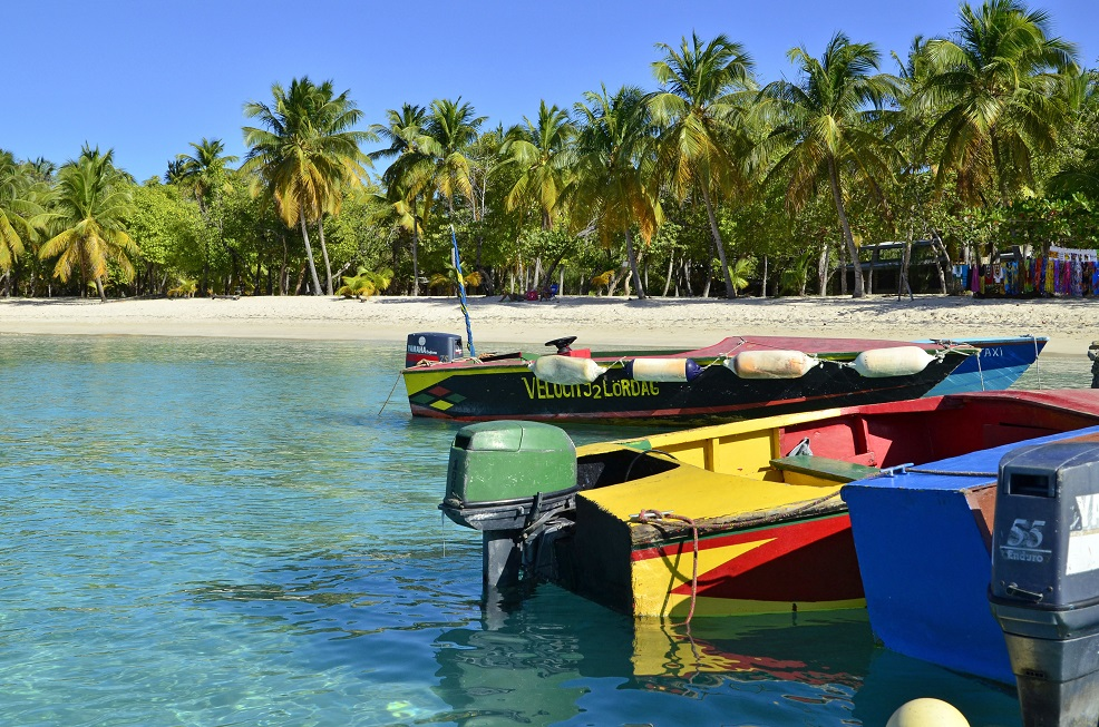Barques aux Grenadines