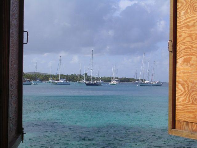 La grande baie d'Antigua