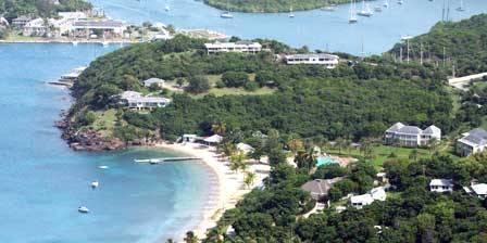 Le port d'Antigua