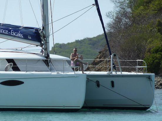 Les Grenadines en catamaran à la cabine