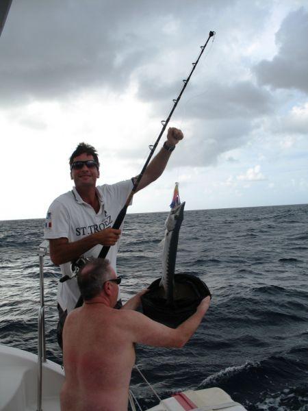 Croisière et pêche aux Antilles